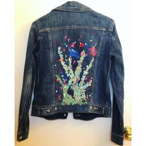 Hand-painted, by me, Denim Levi's Jacket